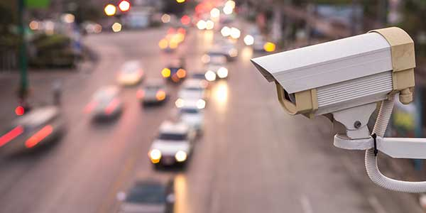 City wide urban traffic management and CCTV